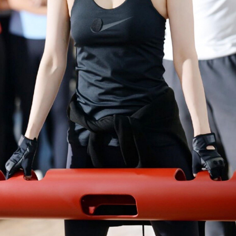 VEVOR Fitness Tube Functional Training Rubber Weight Bar Fitness Training Tube for Loaded Movement Training