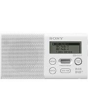 Sony XDR-P1DBP Radio Portable Compacte, FM/Dab/Dab+ - Blanc