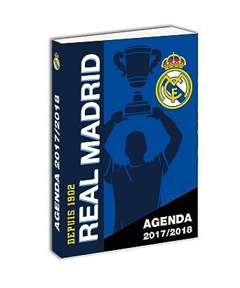 Real Madrid - Agenda Escolar Unisex Infantil, Azul (Idioma ...