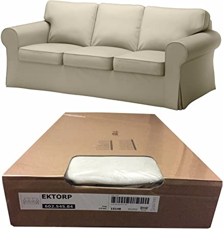 IKEA EKTORP – Sofá Cover, tygelsjo Beige (Funda solamente) 602.545 ...