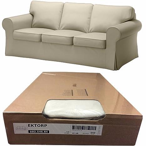 Amazon.com: IKEA EKTORP 3 asiento sofá Cover, tygelsjo Beige ...