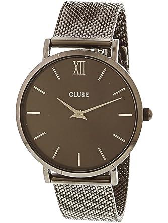 Cluse Reloj Analógico para Mujer de Cuarzo con Correa en Acero Inoxidable CL30067: Amazon.es: Relojes