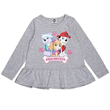 Paw Patrol Girls Long Sleeve T-Shirt Fuchsia