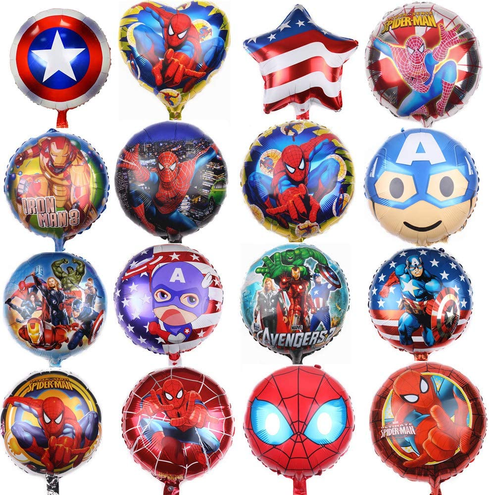 Amazon.com: Paquete de 11 globos sorpresa de cumpleaños para ...