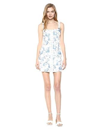 0672c055cb4 Amazon.com  For Love   Lemons Women s Monika Hook Front Dress  Clothing