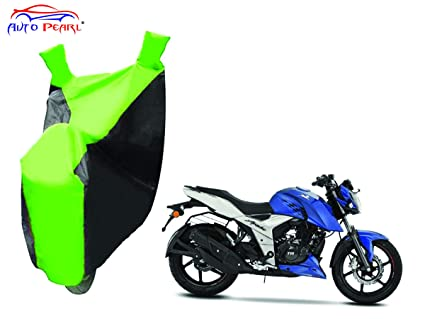 Autopearl Bike Body Cover for TVS Apache RTR 160 4V (Green and Blue)