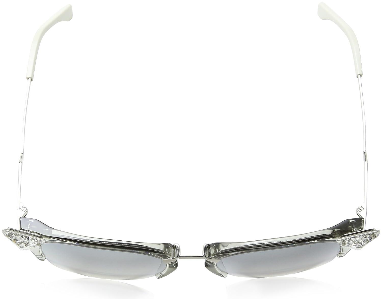 2f668db1fffdc Fendi Women s s Ff 0041 S Fu 27c Sunglasses White (Weiß) 56  Amazon.co.uk   Clothing