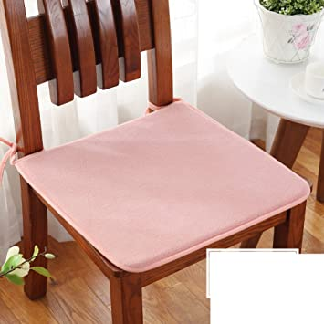 Schon Reine Farbe Plüsch Stuhl Kissen Jahreszeiten Stoff Student Anti Rutsch Esszimmer  Stuhl Polster Autositz Sitzkissen