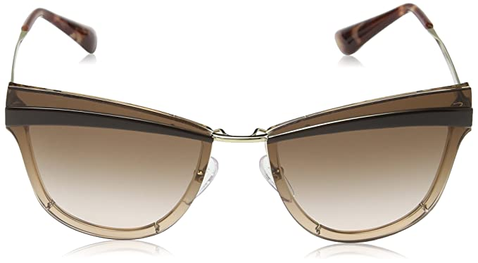 Prada Damen Sonnenbrille 0PR12US KOF0A6, Gold (Pale Gold/Antique Pink/Brown), 65