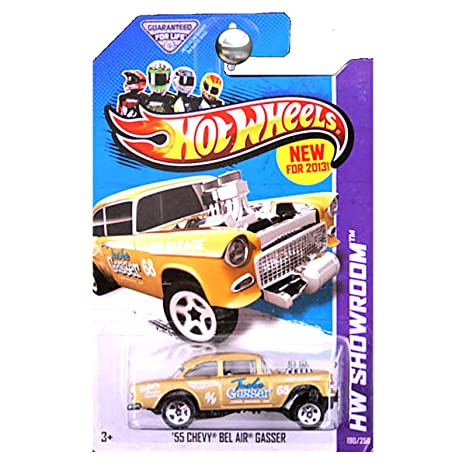 Amazon Hot Wheels 2013 Hw Showroom 55 Chevrolet Chevy Bel Air