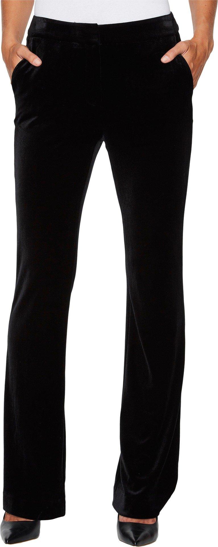 Calvin Klein Women's Velvet Pant, Black, 10
