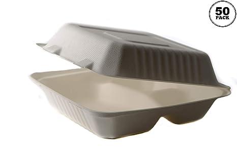 Amazon.com: [50 unidades] contenedor de alimentos de 8 ...