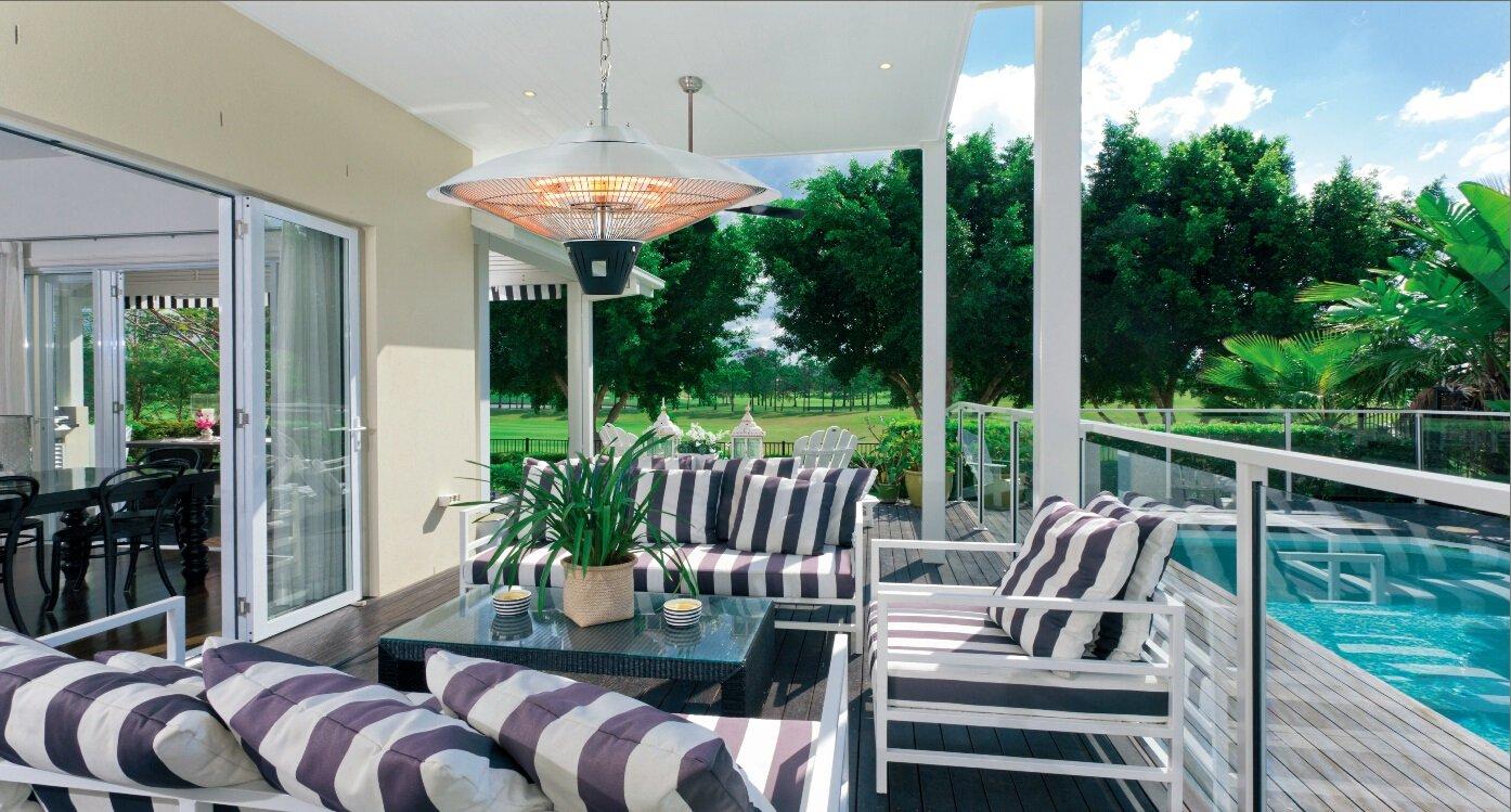 Amazon.com : AZ Patio Heaters Electric Patio Heater, Hanging : Garden U0026  Outdoor