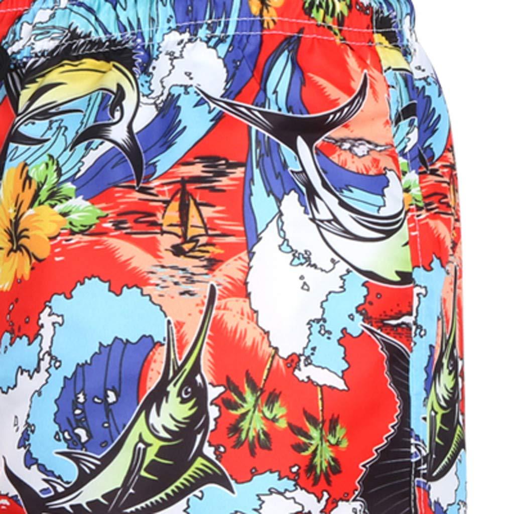 Palarn Sports Pants Casual Cargo Shorts Mens Summer Fashion 3D Printed Shorts Recreational Sports Beach Pants