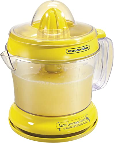 Proctor Silex Alex's Lemonade Stand Citrus Juicer Machine and Squeezer 66331
