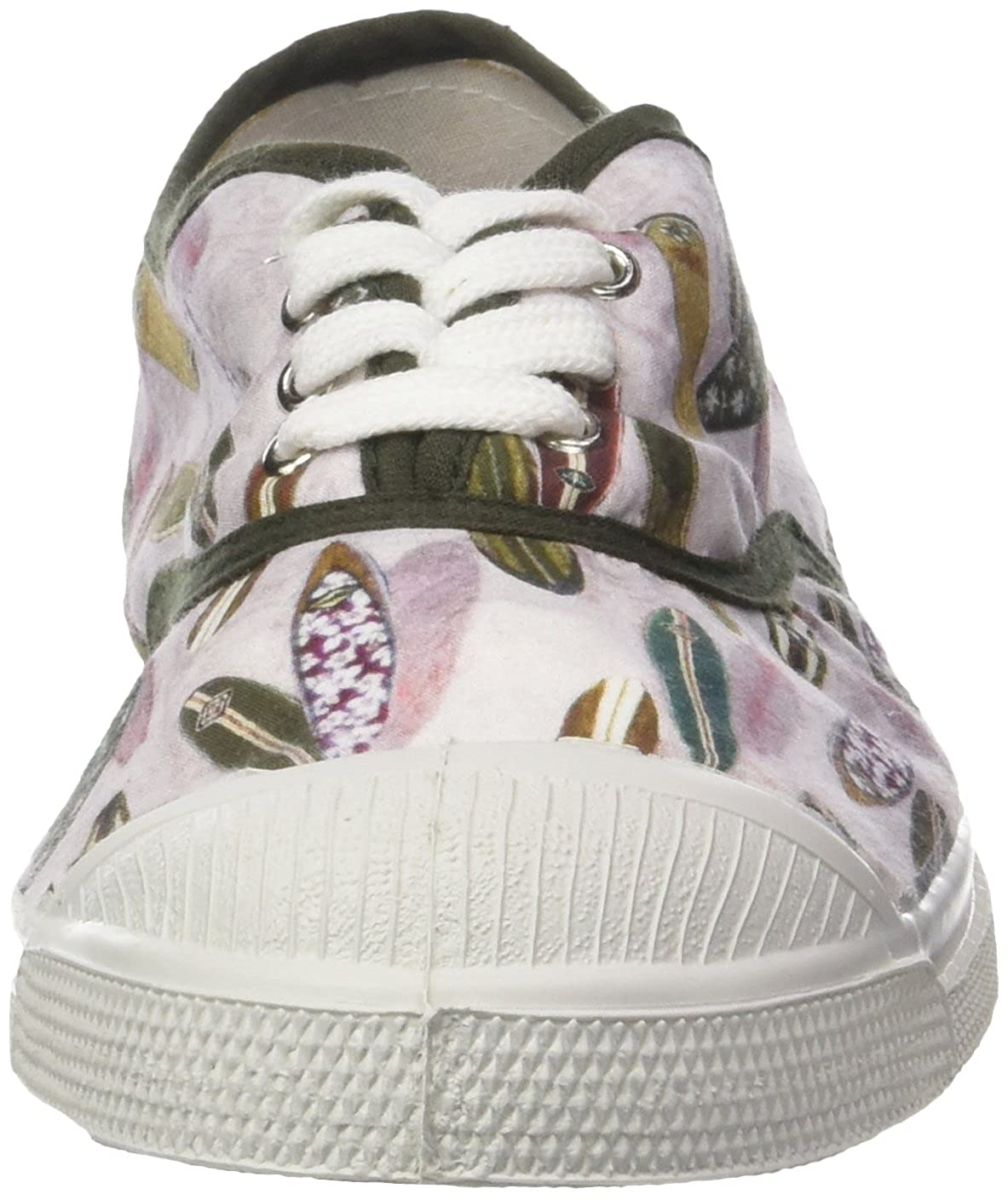 3e5f8f805b64c2 Bensimon Tennis Lacets Surf Prints, Baskets Femme