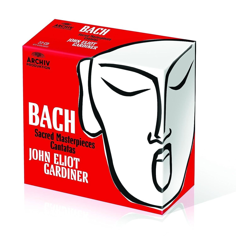 Bach: Cantatas Y Obras Sacras: John Eliot Gardiner, Johann Sebastian Bach: Amazon.es: Música
