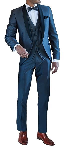 Suit Me 3-piezas de trajes de fiesta de la boda del smoking traje esmoquin de  chaqueta eef7b256168