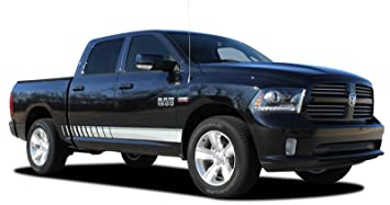 RAM ROCKER STROBES  2009-2018 Dodge Ram Lower Rocker Door Striping Vinyl Graphic Decal  sc 1 st  Amazon.com & Amazon.com: RAM ROCKER STROBES : 2009-2018 Dodge Ram Lower Rocker ...