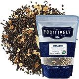 Organic Positively Tea Company, Masala Chai Black Tea, Loose Leaf, 16 Ounce