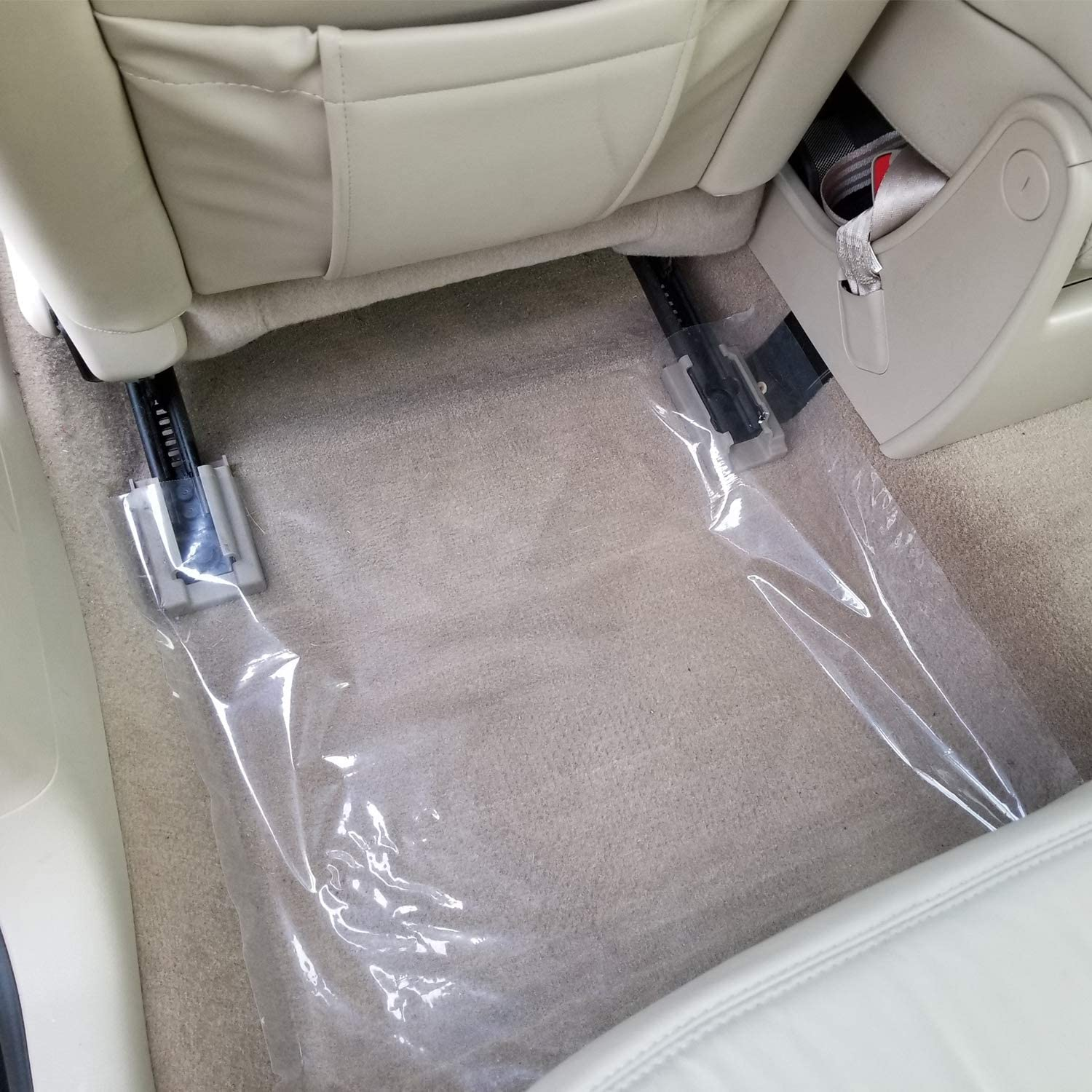 "DEALER MUST REMOVE ADHESIVE AUTO//FLOOR MATS 21/""X 24/"" 4 mill 300 FT ROLL X STICKY"