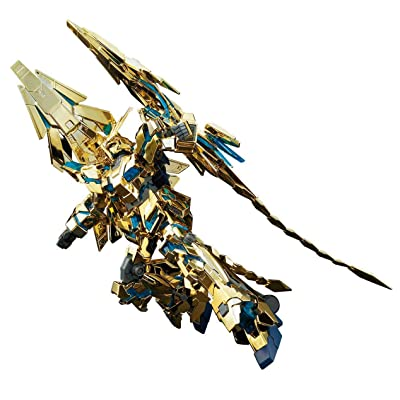 "Bandai Hobby HGUC 1/144 Unicorn Gundam Phenex Gold Coating (Gundam Narrative) ""Gundam UC"" Model Kit: Toys & Games"