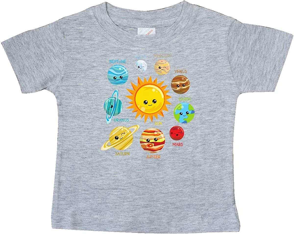 inktastic Cute Planets Space Baby T-Shirt Solar System Astronomy