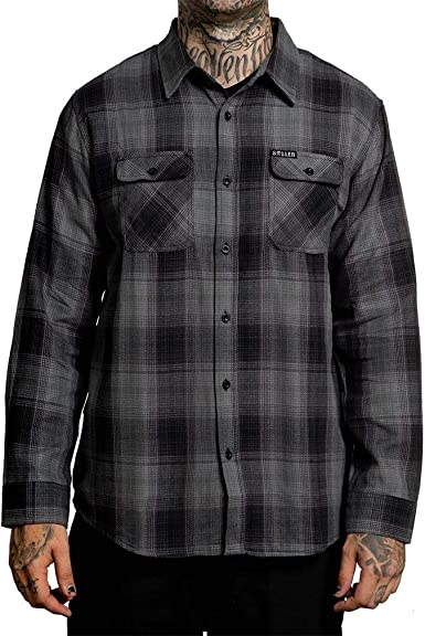 Sullen Clothing - Camisa de franela: Amazon.es: Ropa y accesorios