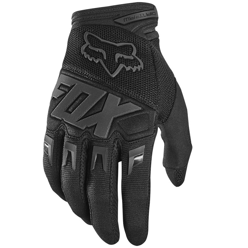 2020 Fox Racing Dirtpaw Race Gloves-Black/Black-3XL by Fox Racing