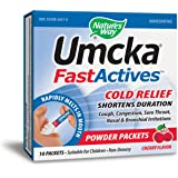 Nature's Way Umcka Fastactives, Cherry Coldcare, 10-Count