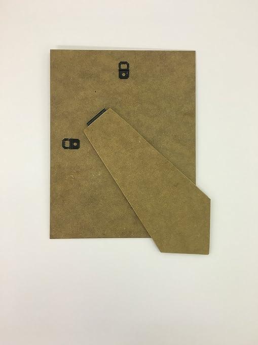 Soporte trasero para marco de fotos con pata de recambio, en fibra ...