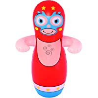 BESTWAY INFLATABLE BLOW UP 3D BOP WRESTLE PUNCH PUNCHING BOXING BAG KIDS TOY GAME SAND FILLED
