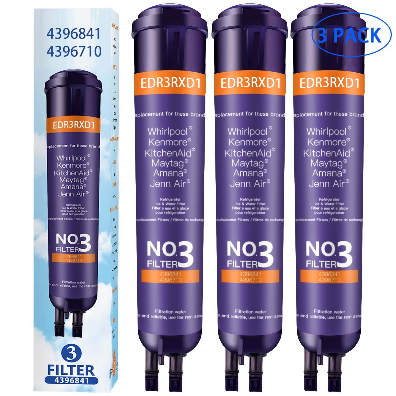 WANDD 9083 Refrigerator Water Filter Ken-More 469083 46-9083 Water Filter,Ken-More 9030 469030 46-9030 Water Filter Replacement (3 Pack)