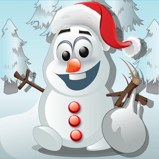 Frozen Snowman Knockdown Pro