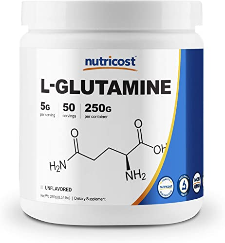 Nutricost L-Glutamine Powder 250 Grams