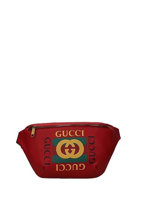 Gucci Mochilas & Riñoneras Hombre - Piel (5304120GDCT): Amazon.es: Zapatos y complementos