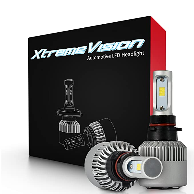 Amazon.com: XtremeVision 7G 72W 16,000LM - P13 LED Headlight Conversion Kit - 6500K CSP LED - 2019 Model: Automotive