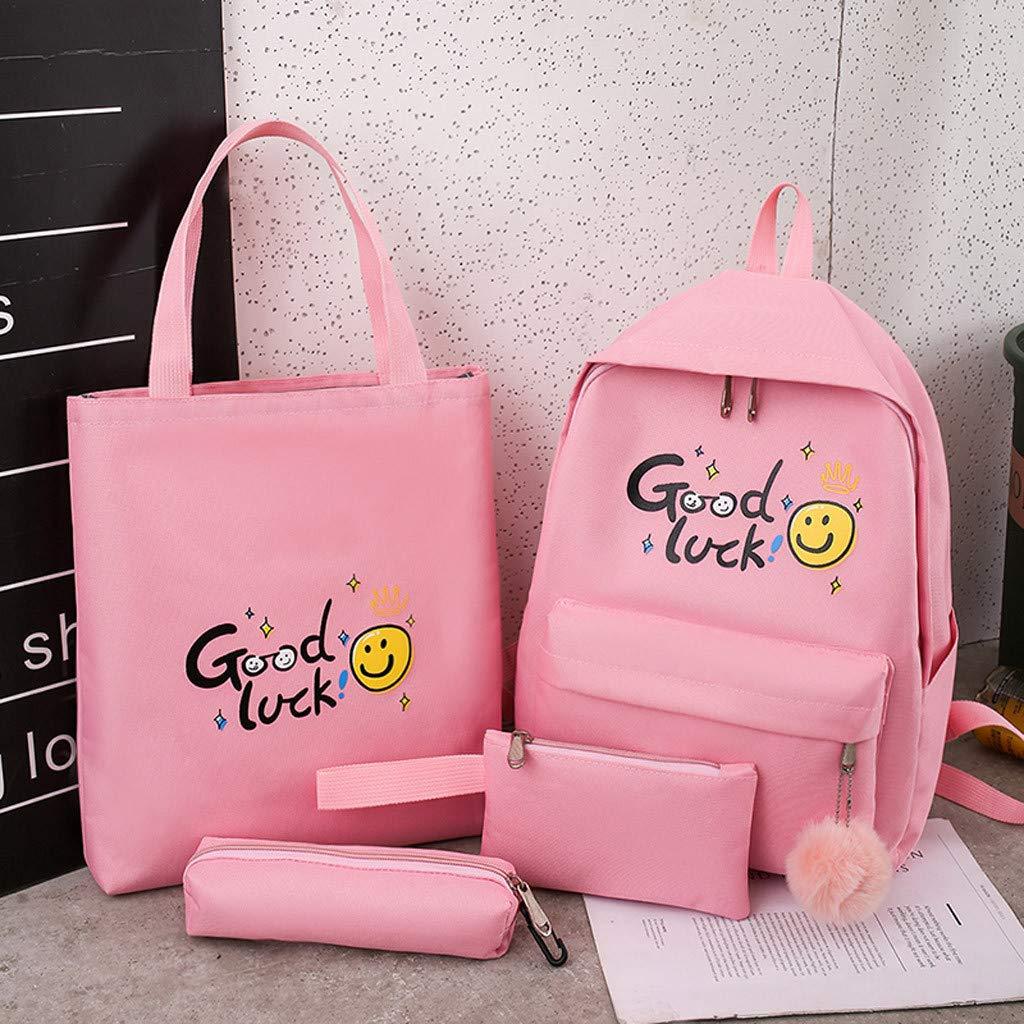 Womola Women College Wind Female Student Bag Cartoon Cute Mini Backpack for School Casual Kids Vintage Travel Bag