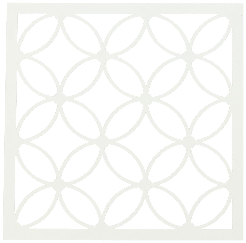 Judikins Judikins Kite Schablone 6 quadratisch Kreuz und Quer, Acryl, mehrfarbig B017V1DQE2 | Schön In Der Farbe