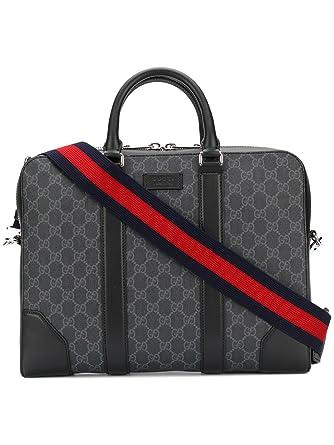 8e3df2edf50 Gucci Men s 474135K5RLN1095 Black Polyurethane Briefcase  Amazon.co.uk   Clothing