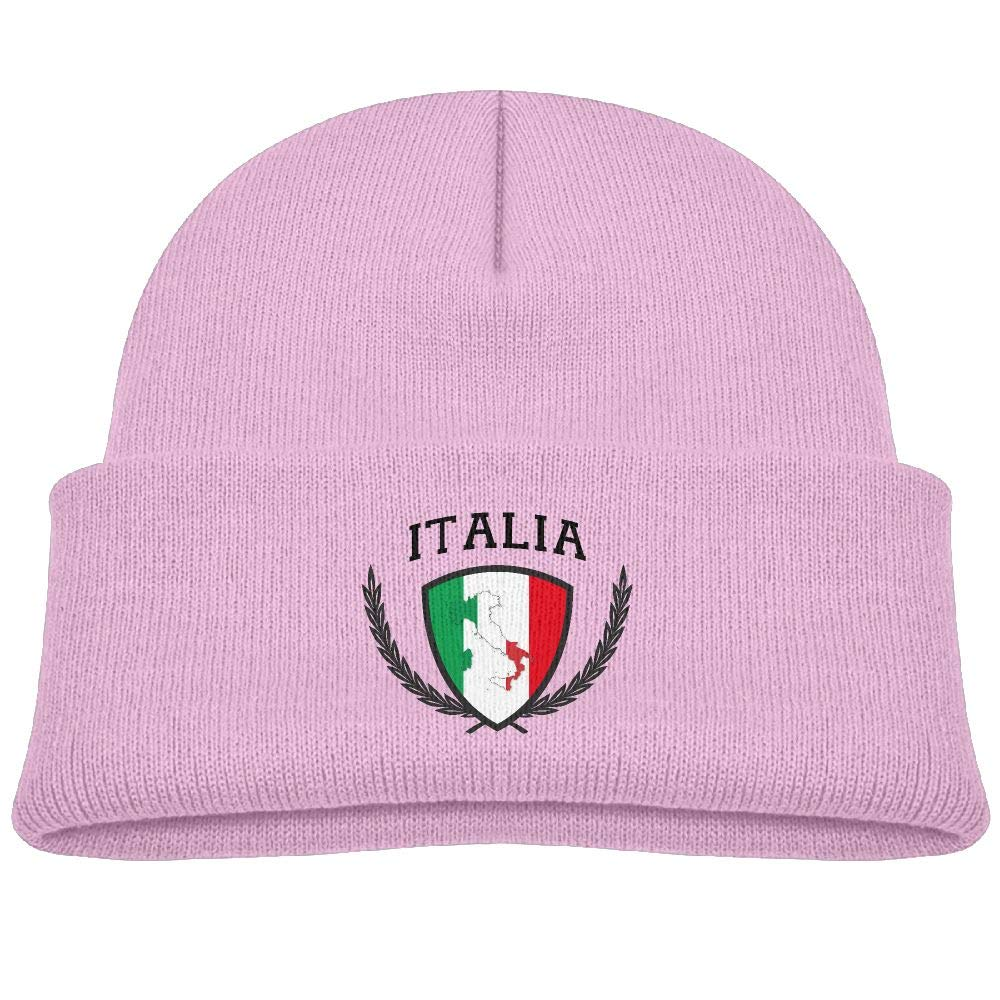 507d123a8 Lead-do Boys Girls Italia Italy Italian Flag Knitted Beanie Caps Cute Kids  Warm Hats