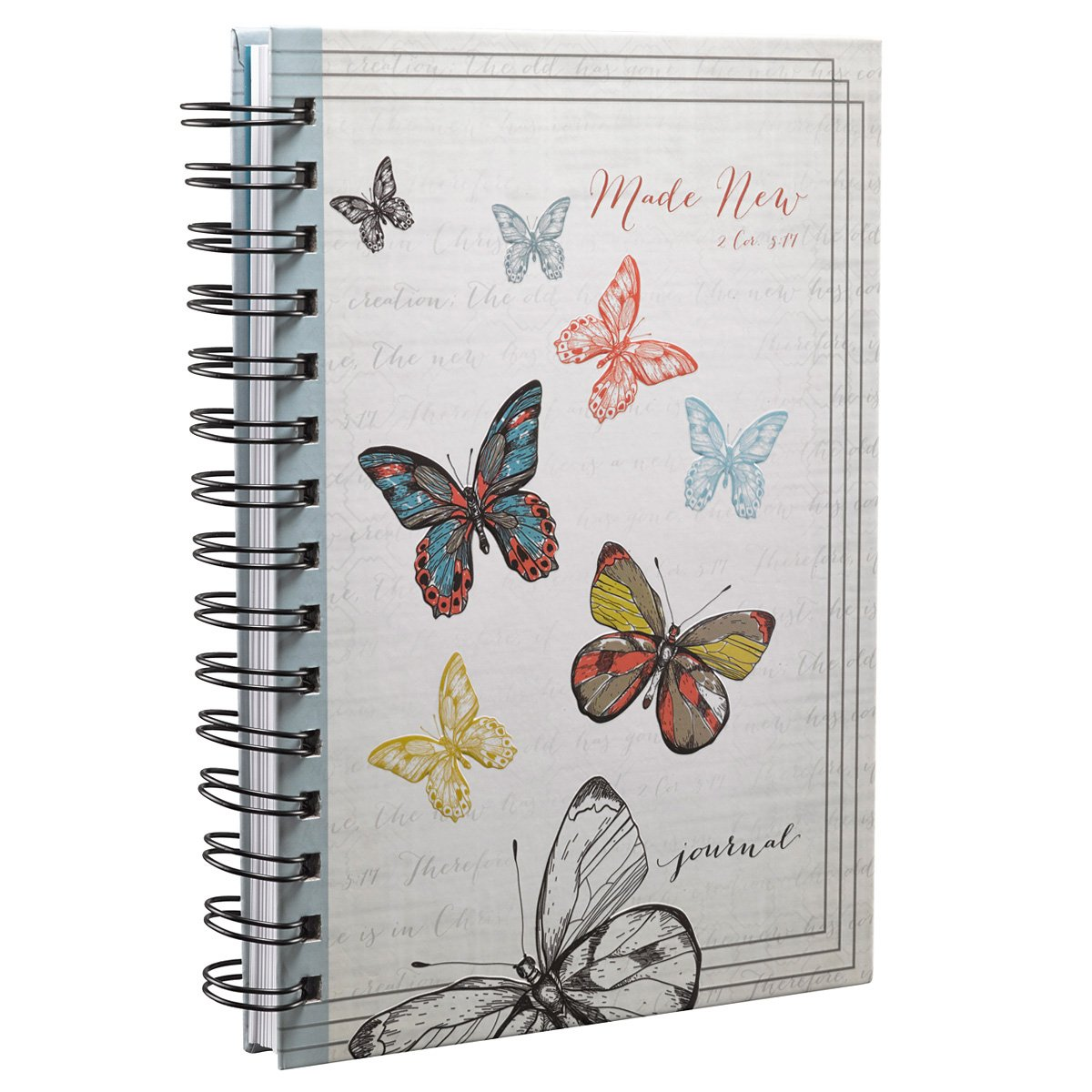 Made Butterfly Hardcover Wirebound Journal