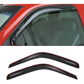 Auto Ventshade 92416 Original Ventvisor Side Window Deflector Dark Smoke 2-Piece Set for 1999-2003 Dodge Ram Van 1500 2500 3500 w//o Vent Windows Also fits 1995-1998 Dodge B1500