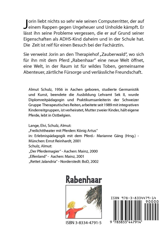 Rabenhaar. Erlebnisse eines ADHS Kindes: Amazon.it: Schulz