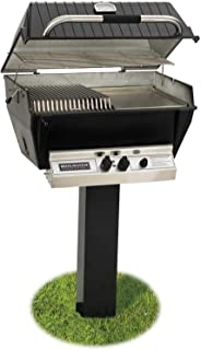 product image for Broilmaster P3-SX Super Premium Propane Gas Grill On Black In-Ground Post