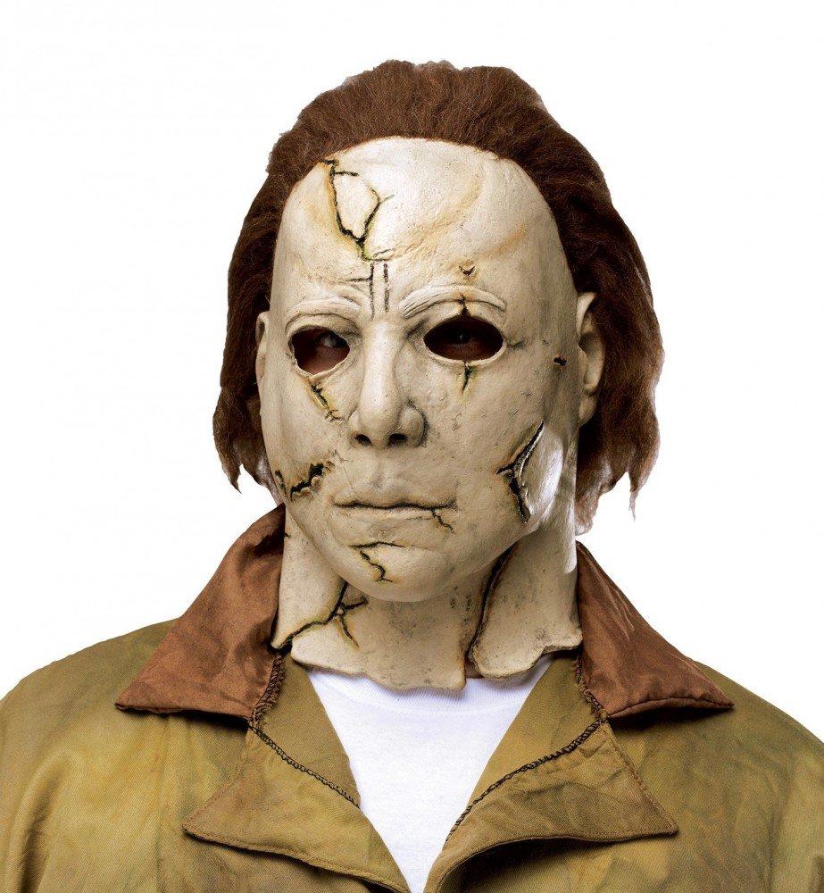 shoperama Señor Disfraz Michael Myers Incluye máscara Horror de película Halloween Disfraz Serie Killer suicidas: Amazon.es: Juguetes y juegos