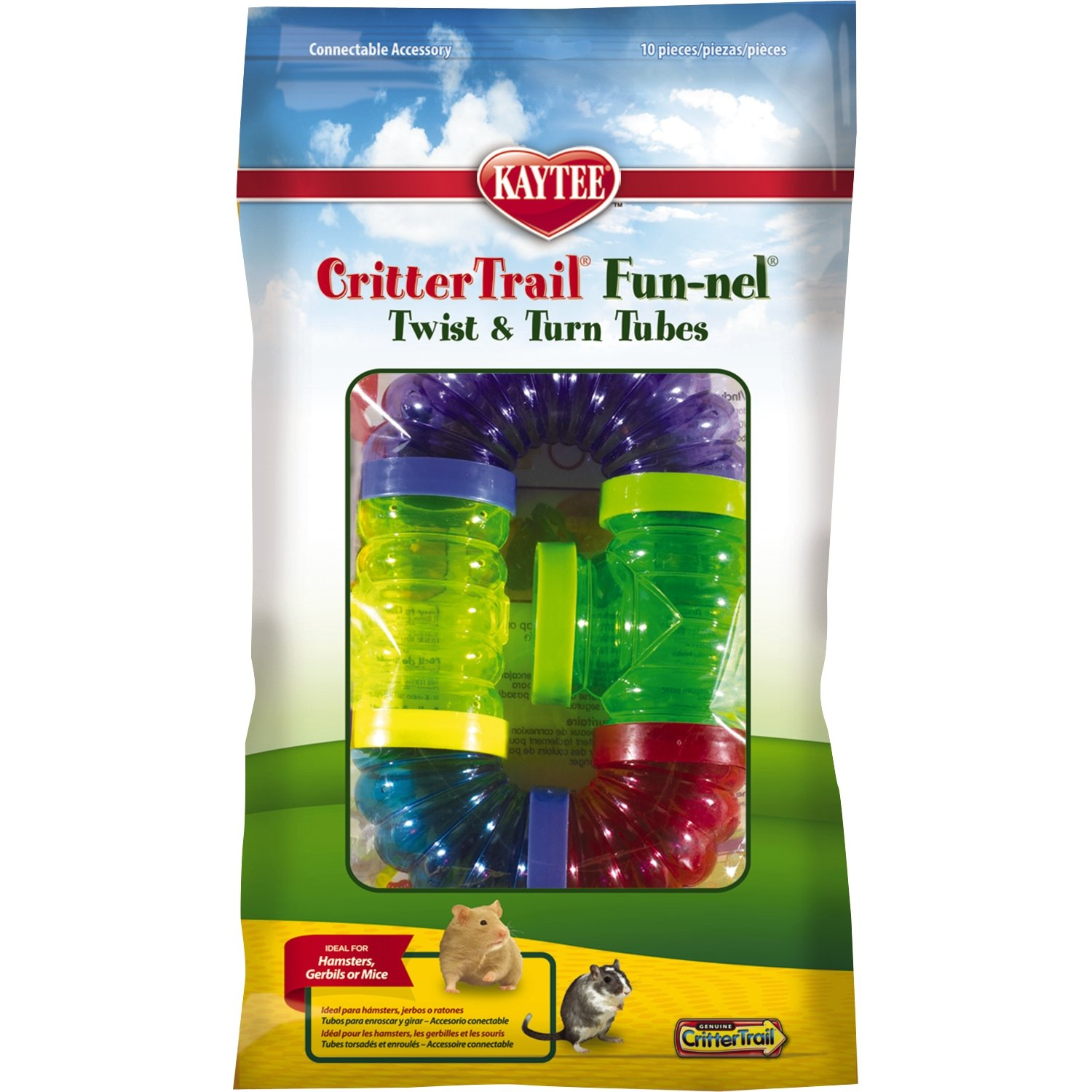 Kaytee CritterTrail Fun Twist and Turn Value Pack, Colors Vary by Kaytee (Image #1)