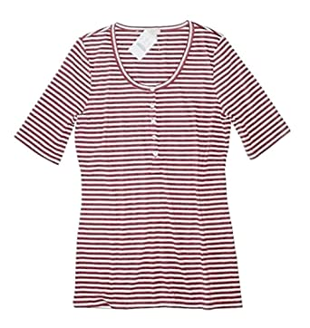 6f25c7b68 J. Crew Factory - Women s - Striped Elbow Sleeve Scoop Neck Henley Tee (XX