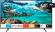 "Smart TV 4K LED 50"" Samsung UN50RU7100 Wi-Fi - HDR 3 HDMI 2 USB"