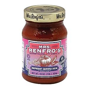 MRS RENFRO Chipotle Raspberry Salsa, 16 OZ